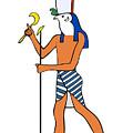 God Of Ancient Egypt - Horus by Michal Boubin
