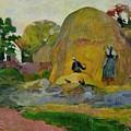 Golden Harvest by Paul Gauguin