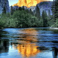Golden Light On Half Dome by Mimi Ditchie Photography