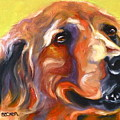 Golden Retriever The Shadow Of Your Smile by Susan A Becker
