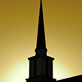 Golden Sky Steeple by CML Brown