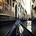 gondola - Venice by Joana Kruse