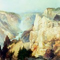 Grand Canyon Of The Yellowstone Park by Thomas Moran