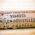 Grand Cru Classe Bordeaux Wine Cork by Frank Tschakert