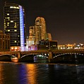 Grand Rapids Mi Under The Lights by Robert Pearson