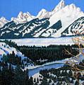 Grand Teton by Frederic Kohli