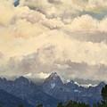 Grand Tetons  Sky by Suzette Kallen
