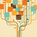 Graphic Tree by Setsiri Silapasuwanchai