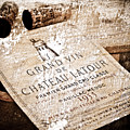 Great Wines Of Bordeaux - Chateau Latour 1955 by Frank Tschakert