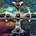 Greek Cross 3 by Sarah Loft