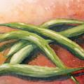 Green Beans by Sandra Neumann Wilderman