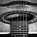 Guitar Close Up by Svetlana Sewell