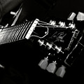 guitarist Print by Stylianos Kleanthous