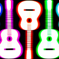 Guitars On Fire 5 by Andy Smy