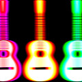 Guitars On Fire by Andy Smy