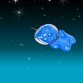 Gummy Bear In Space by Jera Sky