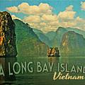 Ha Long Bay Islands Vietnam by Flo Karp