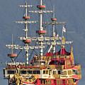 Hakone Sightseeing Cruise Ship Sailing On Lake Ashi Hakone Japan by Andy Smy