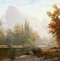 Half Dome Yosemite by Albert Bierstadt