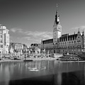 Hamburg - Binnenalster by Marc Huebner