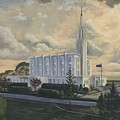 Hamilton New Zealand Temple by Jeff Brimley