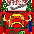 Happy Christmas 32 by Patrick J Murphy