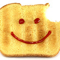 Happy Face And Bread by Blink Images