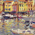 Harbor At Cassis by Peter Graham