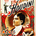 Harry Houdini - King Of Cards by Digital Reproductions