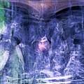 Haunted Caves Print by Linda Sannuti