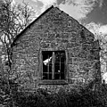 Haunted House In Black And White by Chris Smith