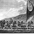 Hawaii: Canoe, 1779 by Granger