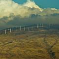 Hawaii Windmills On Maui One by Vance Fox