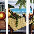 Hawaiian Still Life With Haleiwa On My Mind by Sandra Blazel - Printscapes