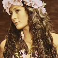 Hawaiian Wahine by Himani - Printscapes