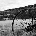 Hay Rake At The Ewing-snell Ranch by Larry Ricker