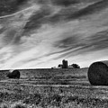 Hayrolls And Field by Steven Ainsworth