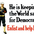 He Is Keeping The World Safe For Democracy by War Is Hell Store