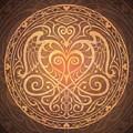 Heart Of Wisdom Mandala by Cristina McAllister