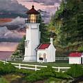 Heceta Head Lighthouse by James Lyman