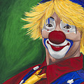 Hello Clown by Patty Vicknair