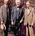 Henry Ford, Thomas Alva Edison, Harvey by Everett