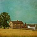 Henry House At Manassas Battlefield Park by Kim Hojnacki
