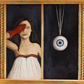 Her Wandering Eye by Leah Saulnier The Painting Maniac