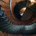 Highland Lighthouse Stairs Cape Cod by Matt Suess