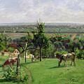 Hillside Of Vesinet by Camille Pissarro