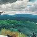Hilly Landscape by Winslow Homer