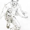 History Concert - Michael Jackson by David Lloyd Glover