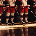 Hockey Reflection by Karol Livote