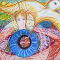 Holy Ghost Shining Eyes by Richard  Hubal